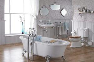 diseño baños vintage