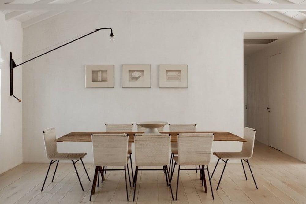 diseños de comedores minimalistas