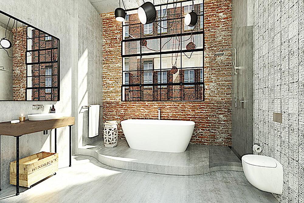 espejos para baños industriales