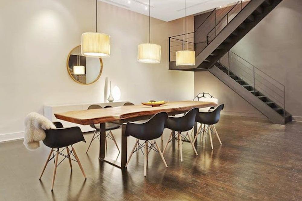 ▷ La sencillez de la decoración minimalista en el comedor ...
