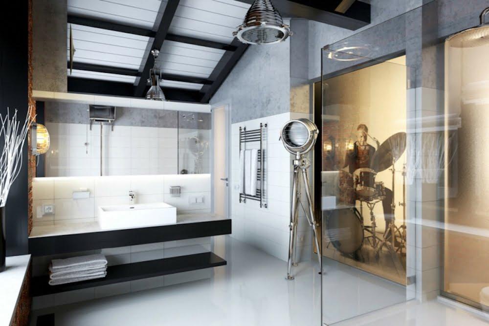 estanteria industrial baño