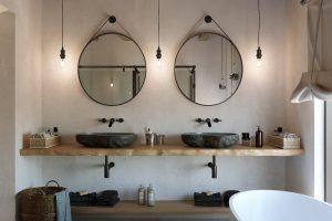 ideas para hacer baños rusticos