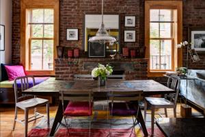 mesa comedor vintage extensible