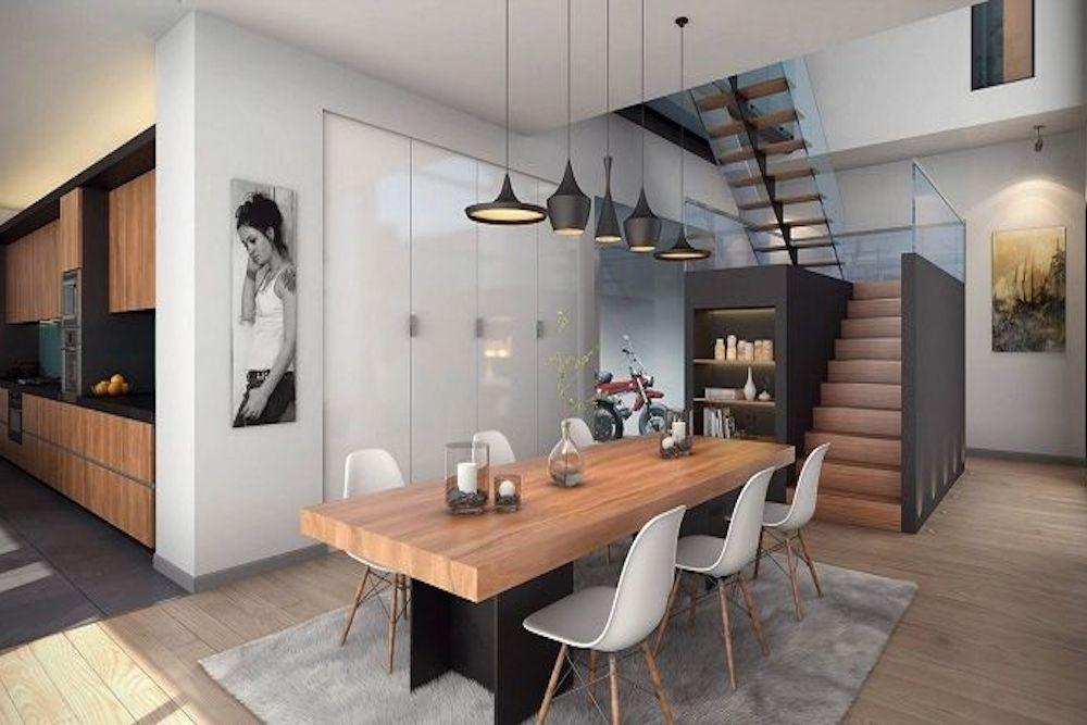 Como Decorar Una Mesa De Comedor Moderna.Claves Para Decorar Un Comedor Moderno Prodecoracion