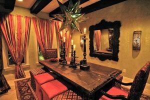 muebles comedor salon estilo arabe