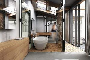 muebles de baño estilo industrial