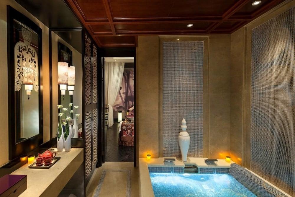 muebles de baño estilo oriental