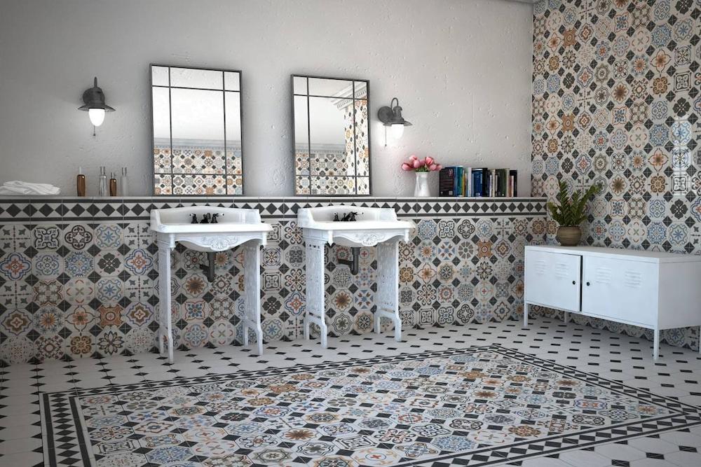 muebles vintage para baños