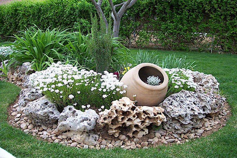 17 ideas para rocallas en el jardín