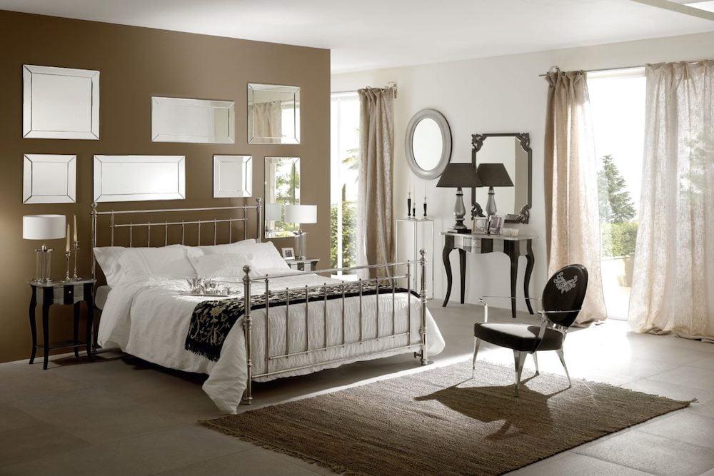 6 ideas para usar el color marrón chocolate y beige en el dormitorio