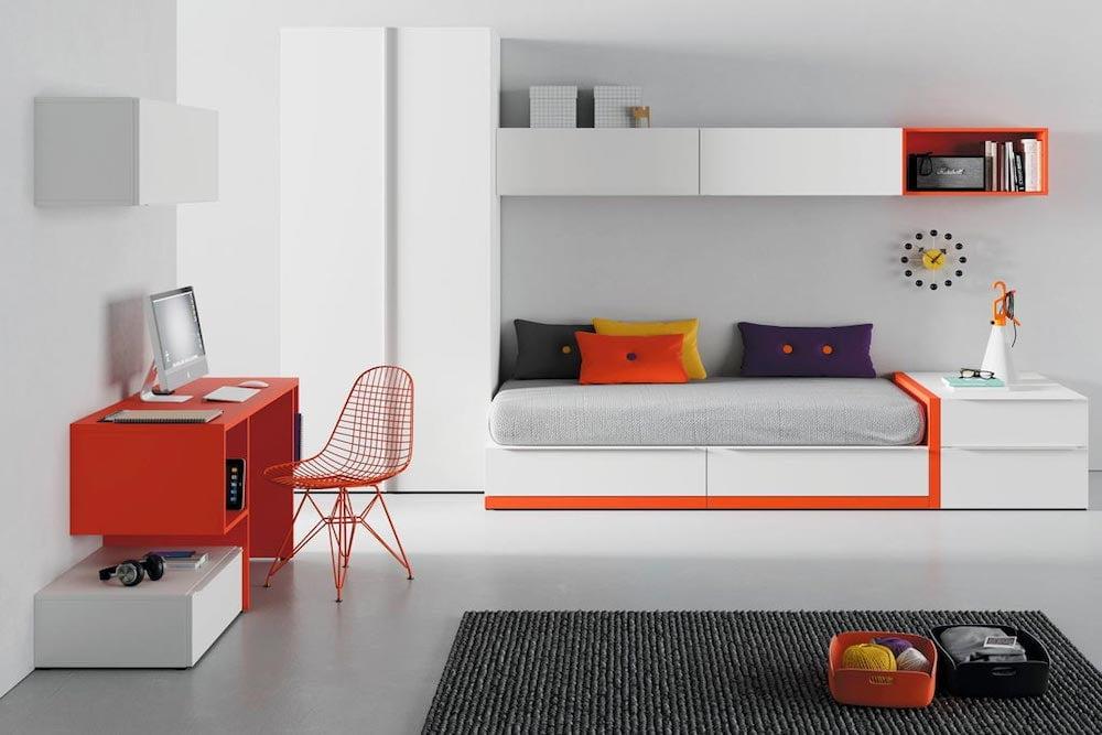Decorar paredes dormitorio juvenil