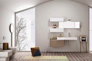 aparador nordico baño