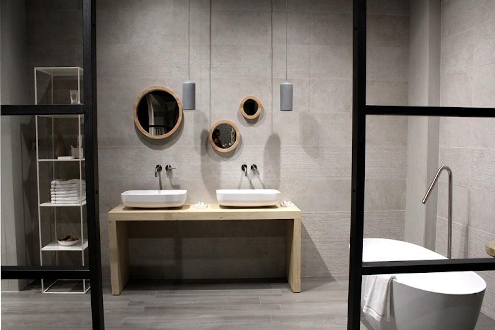 baño eclectico