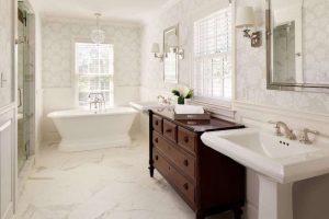 baño estilo clasico
