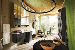 baño estilo etnico