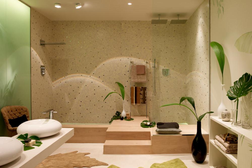 baño grande reformado