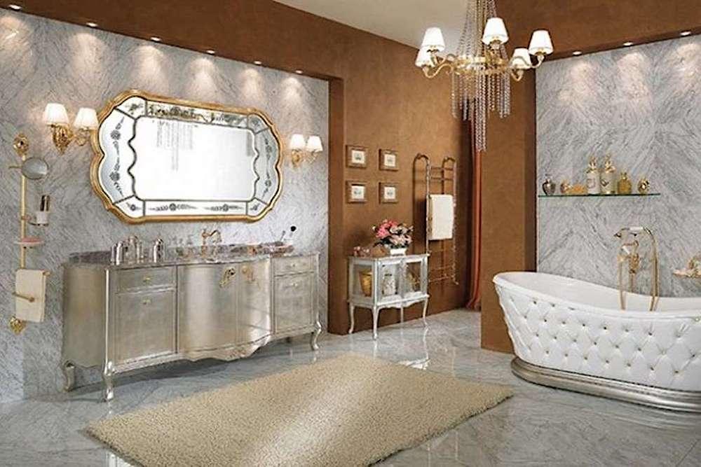 baños de estilo clasico
