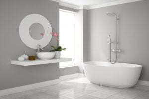 baños de lujo minimalistas