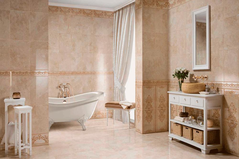 baños diseño clasico