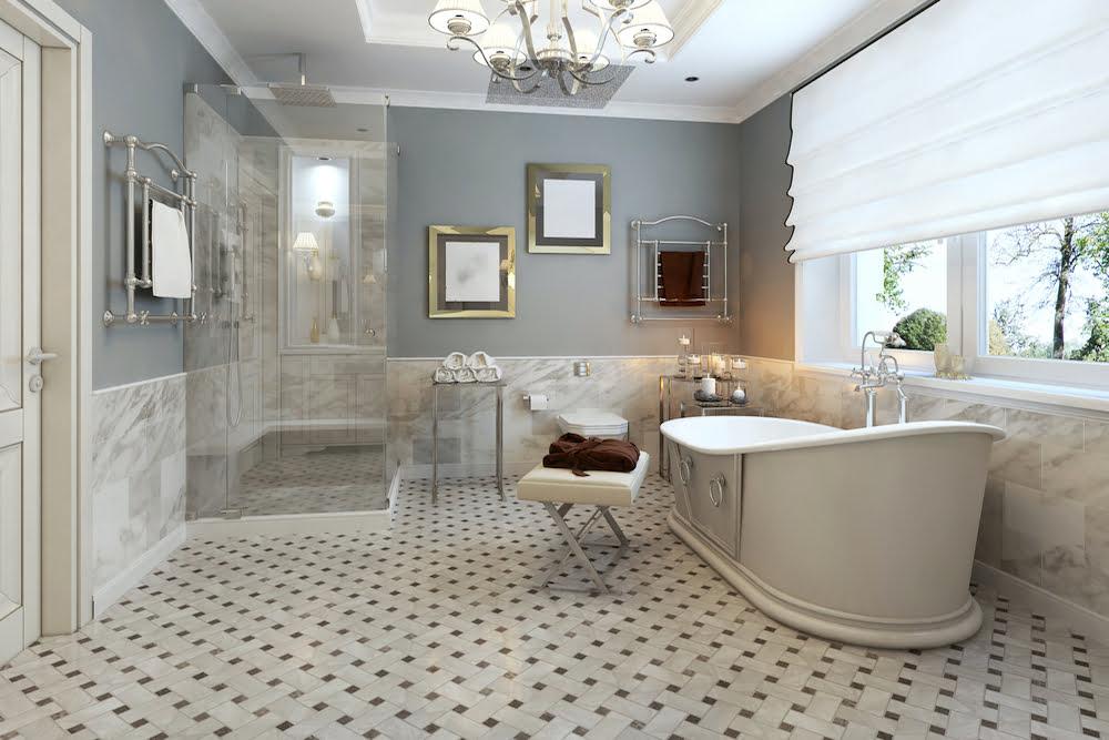 baños estilo clasico