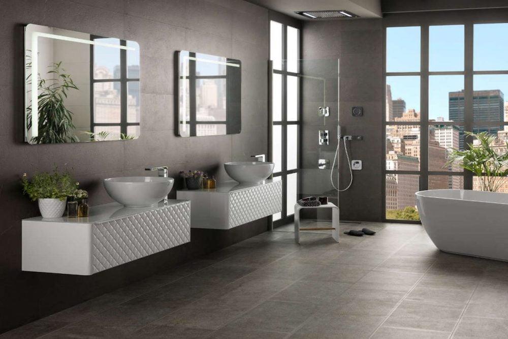 baños grandes modernos