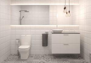 baños nordicos pequeños