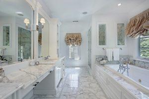 como decorar un baño clasico
