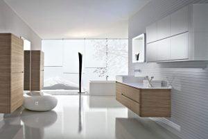 como decorar un baño minimalista