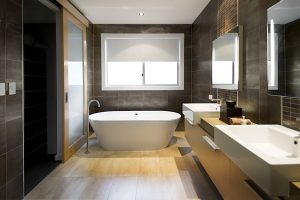 como diseñar un baño moderno