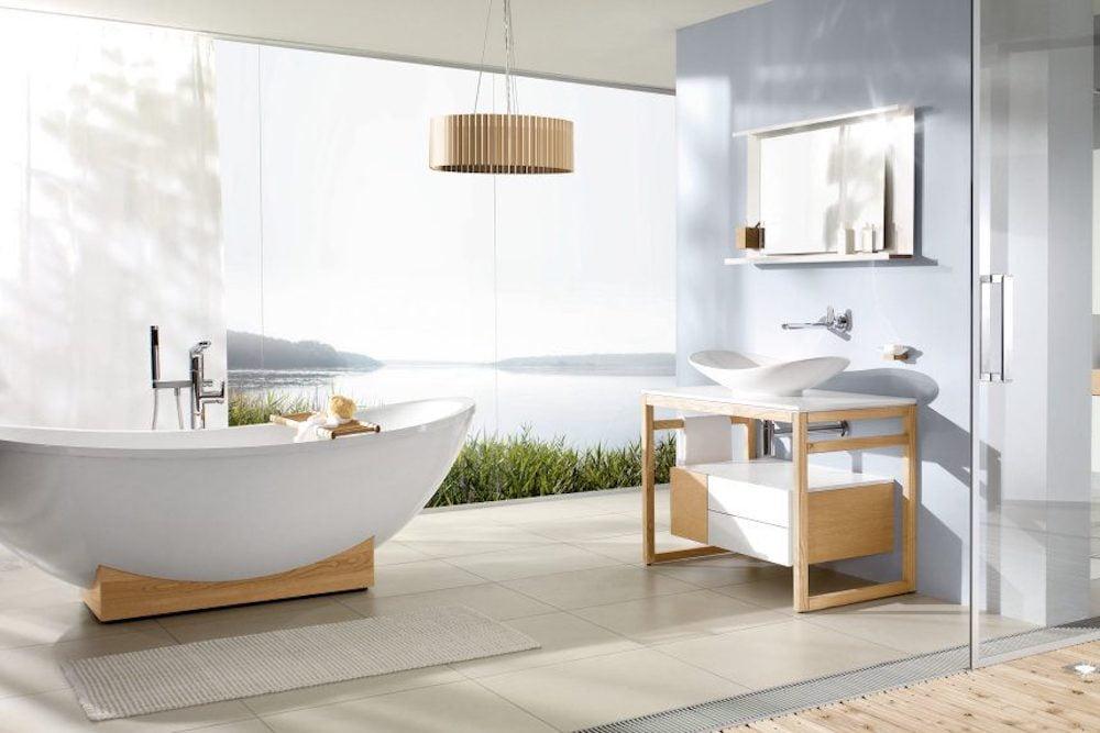 cortinas de baño estilo nordico