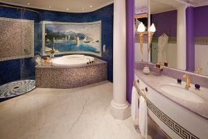 cuarto de baño estilo arabe