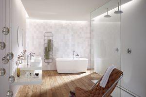 cuarto de baño estilo nordico