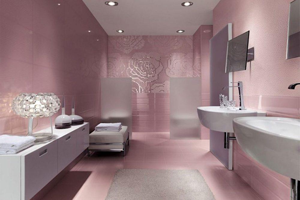 cuartos de baño estilo romantico