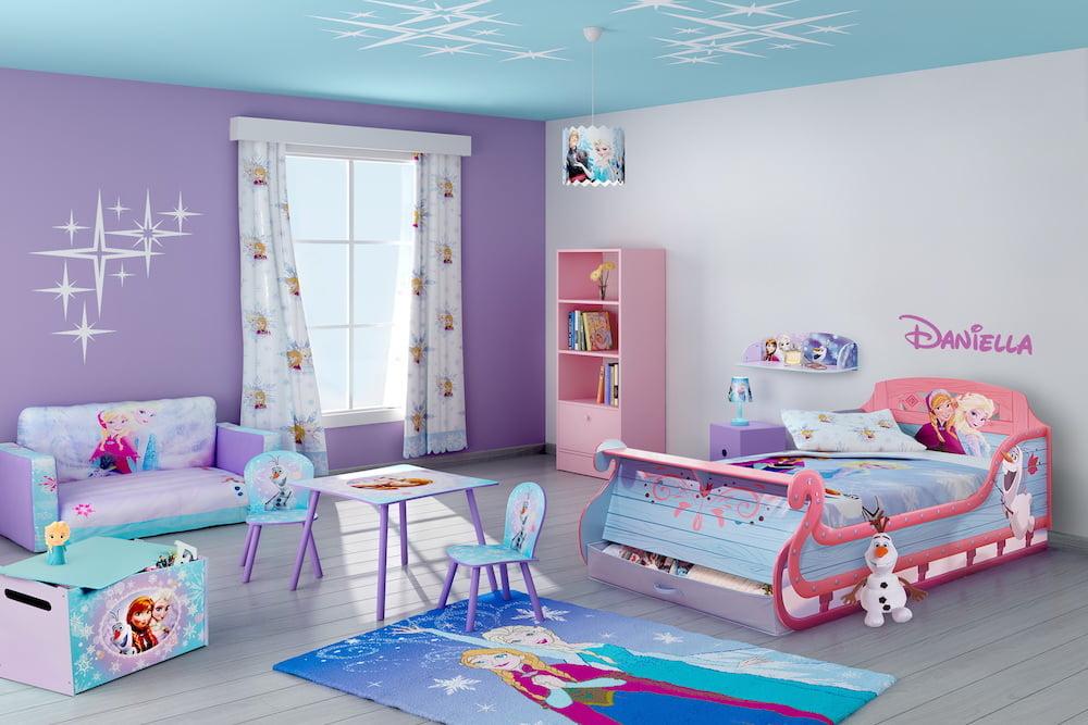 ideas de color de habitación de niños 8 Ideas Para La Decoracin De Cuartos Para Nias