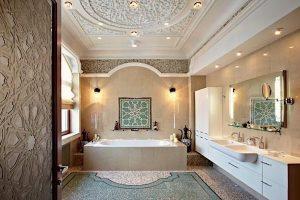 decoracion baño arabe
