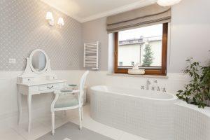 decoracion baño clasico