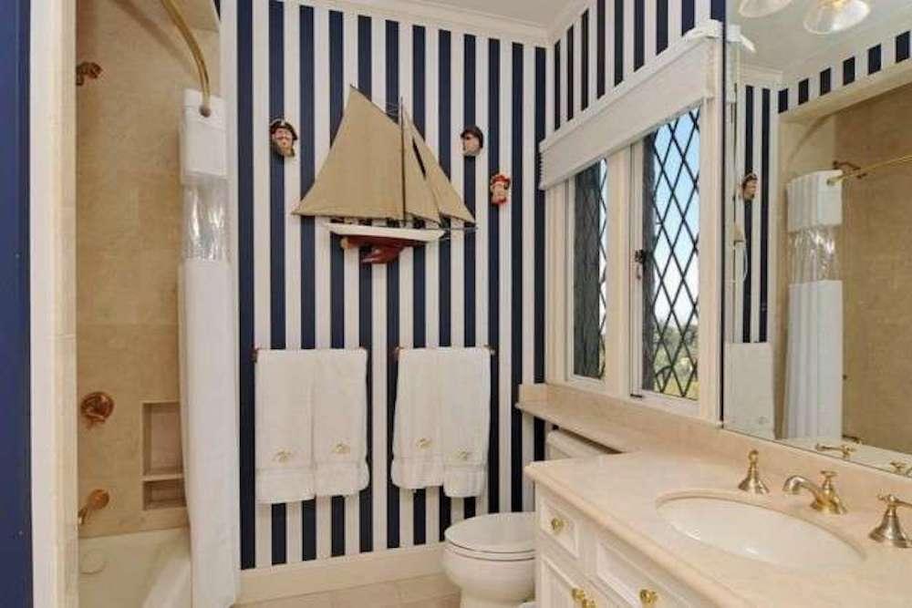 decoracion baño nautico