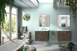 decoracion baños con estilos etnicos