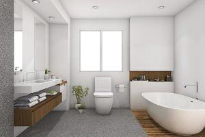 decoracion baños nordicos