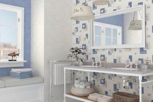 decoracion de baño nautico