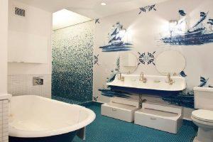 decorar baño nautico