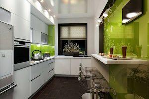 decorar cocinas alargadas y estrechas