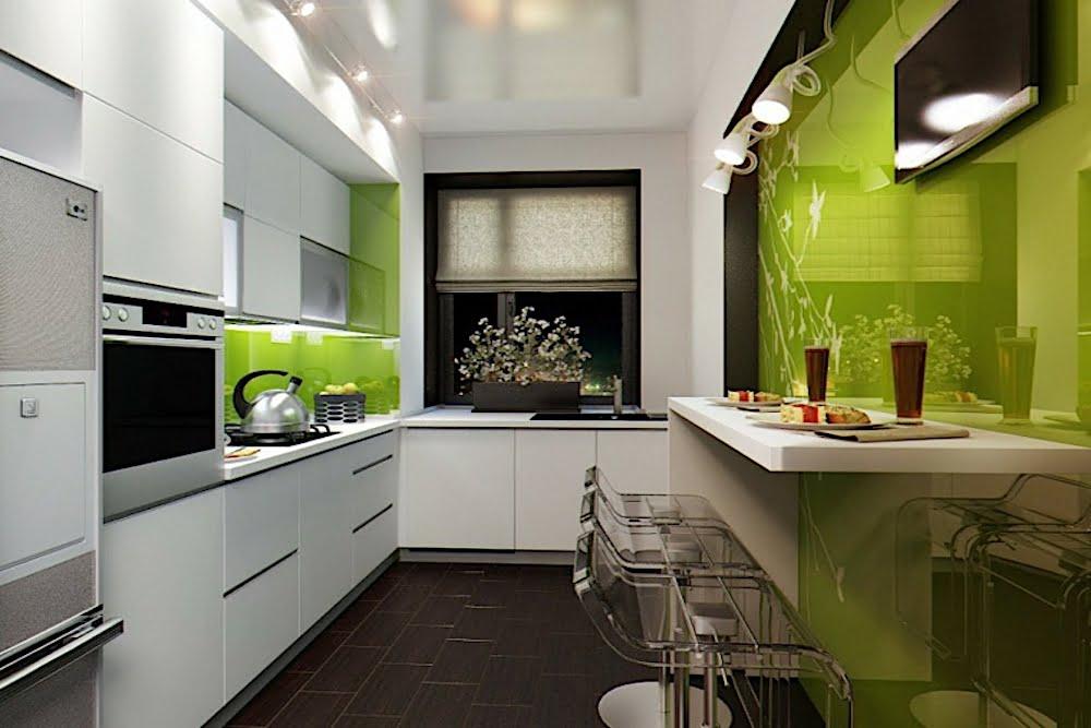 ▷ 9 ideas para decorar cocinas alargadas y estrechas ...