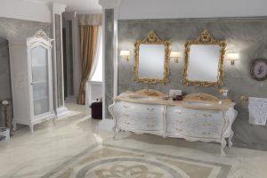diseño baño clasico