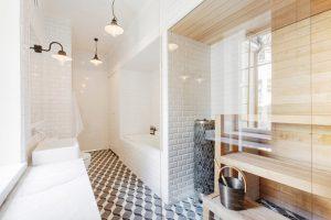 diseño baños nordicos