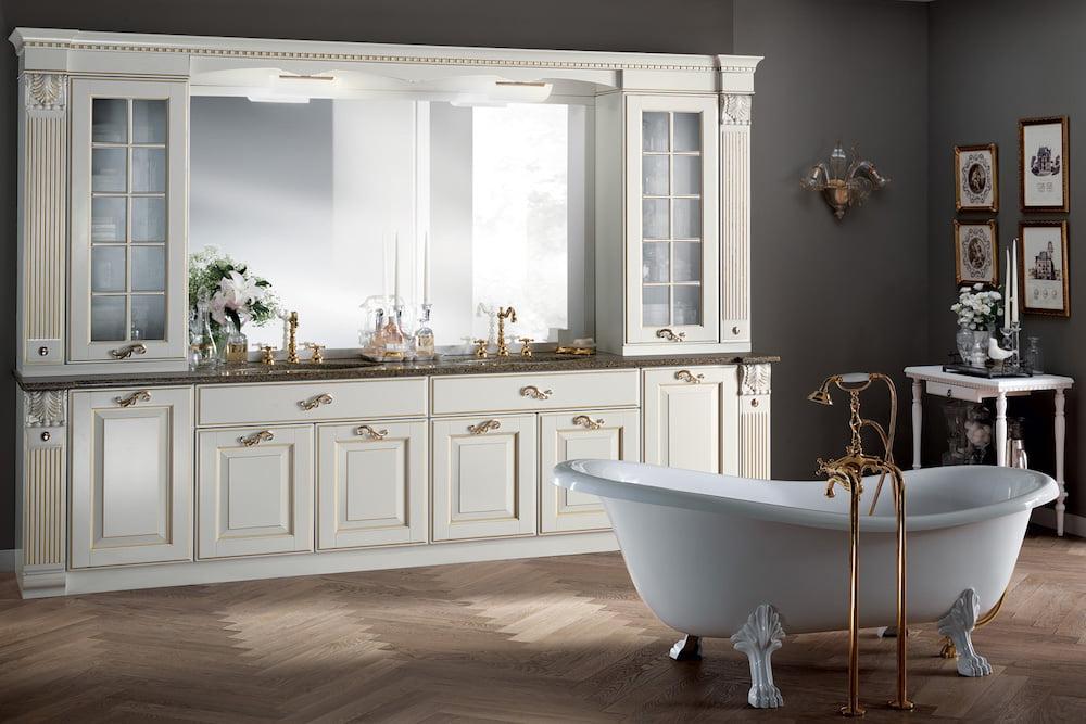 espejo baño clasico