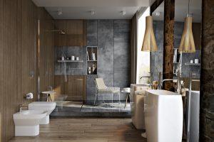 estilos baños modernos