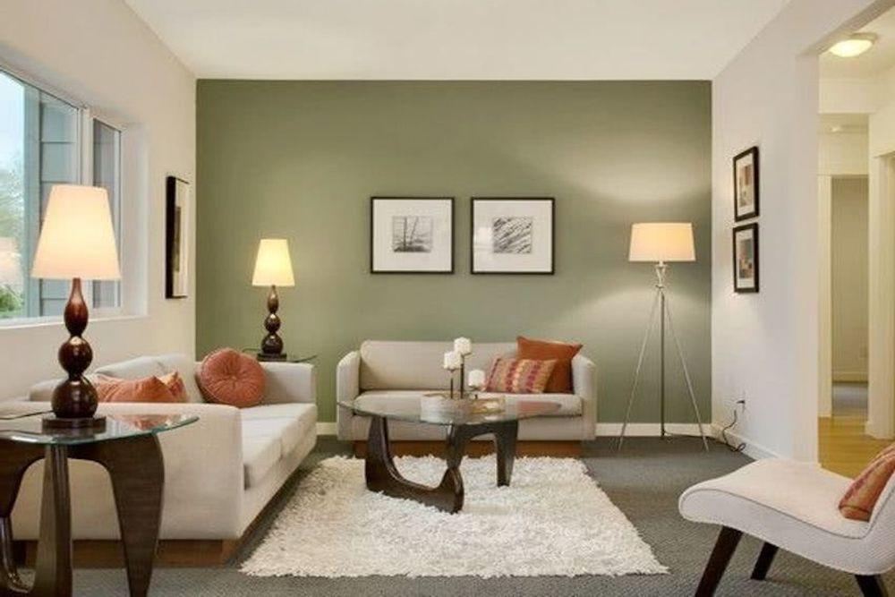 ideas color verde oliva