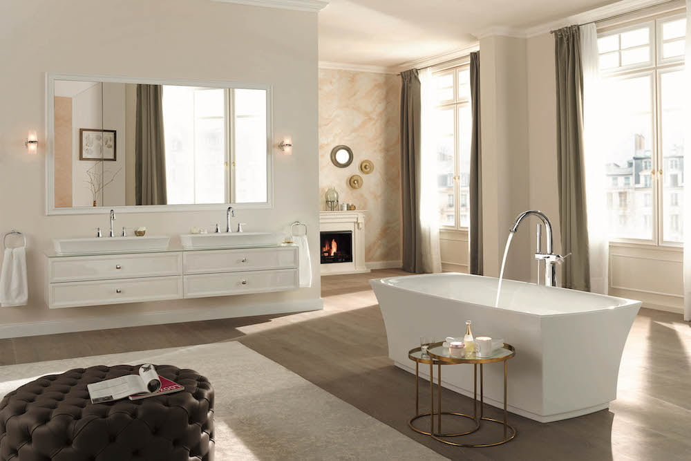 ideas para baño romantico