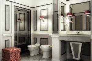 muebles de baño estilo clasico